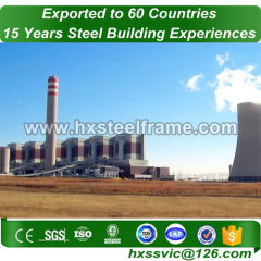 industrial steel fabrication building made of welded H beam cost-saving