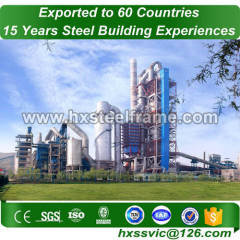 Industrial steel frame building made of steel frame long-span at Hanoi area