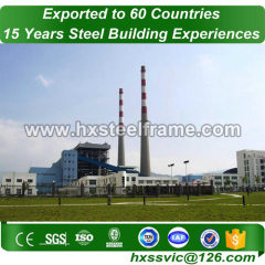 industrial steel structures building by steel frame to India customer