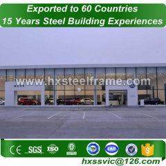 large metal buildings made of ligth steel frame muti-floor to Panama market