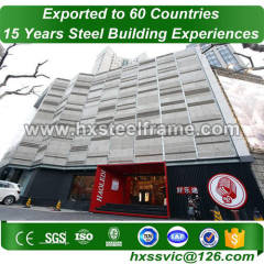 package steel building systems and custom metal buildings with ISO