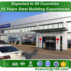 steel building packages and pre engineered steel building factory direct sale