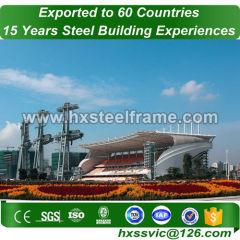 peb steel buildings and custom metal buildings muti-floor to Jakarta market