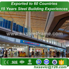metalbuildings and pre engineered steel building good price installed in Congo