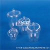 High quality clear quartz silica crucible for heating or Chemical