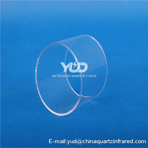 YUANDA heat resistence fused quartz glass tube