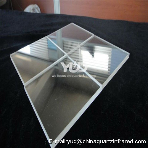 custome made High temperature Thick-walled quartz film