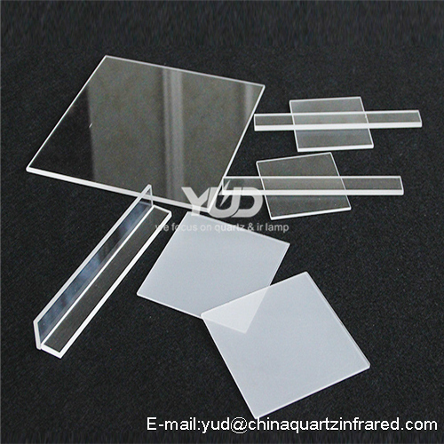 Fused High Quality Polished Infrared Heat Quartz sheet