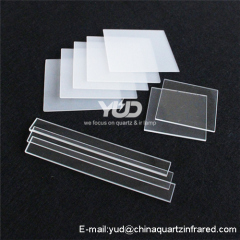 High Purity Clear Customized Quartz Glass Sheet
