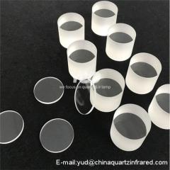 Customer made Heat resistant quartz glass sheet JGS2 JGS1 quartz plate