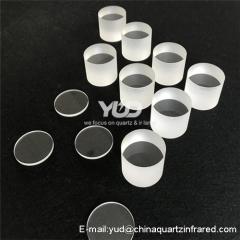 Customer made Heat resistant quartz glass sheet JGS2 JGS1 cylinderical cell