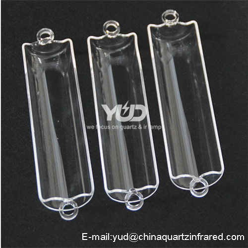 custome made high temperature quartz labware
