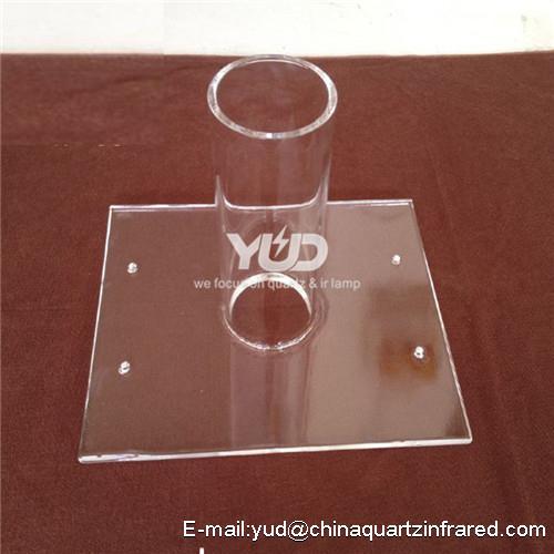 Custom drawings high temperature quartz instrument
