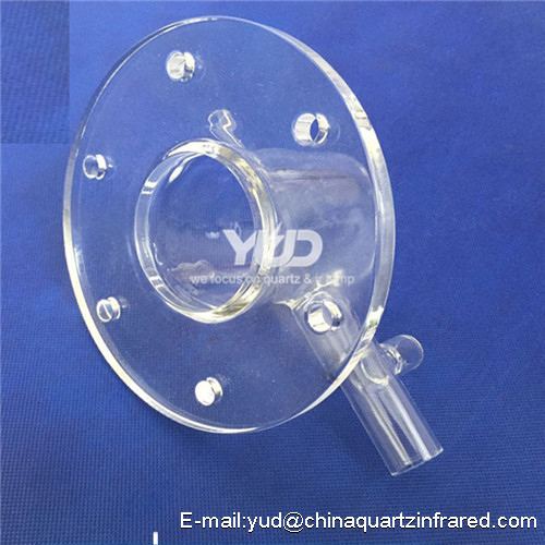 china supplier quartz glass tube Custom laboratory equipment