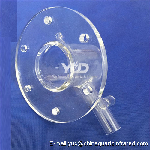 best selling high quality frosted quartz short tube