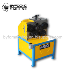duct angle steel roller machine round tube former machine
