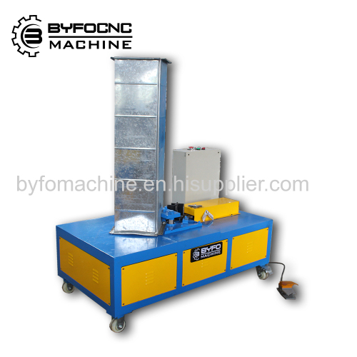 China Air conditioning hvac duct corner inserting machine