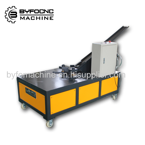 HVAC Work Pneumatic Duct Corner Inserter Byfo corner installation machine