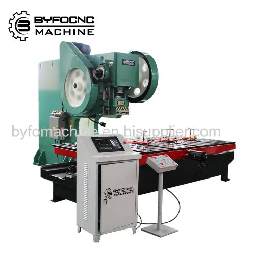 Sheet Metal Used hole punching Nanjing Byfo punch press machine from