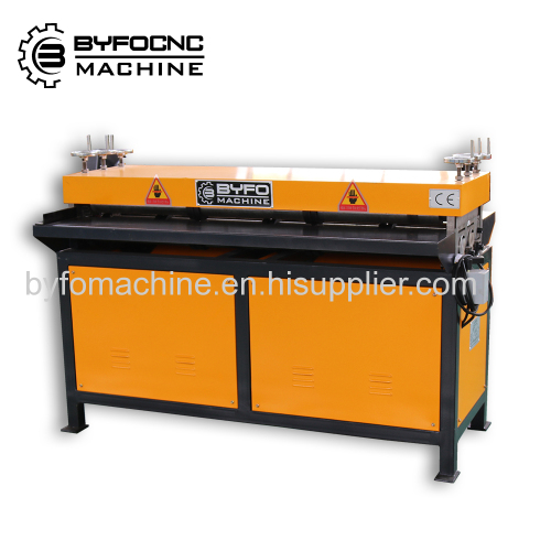 HVAC Five Line/Seven Line Duct beading machine