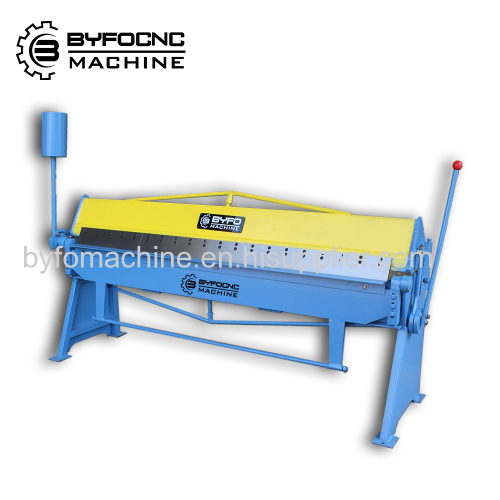 Nanjing Byfo sheet metal manual folding machine