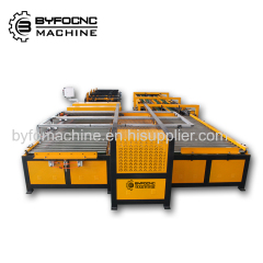 BYFO U shape auto duct line machine