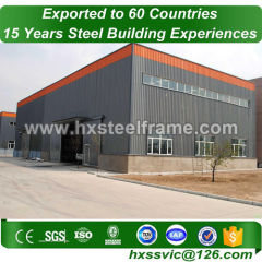 agricultural metal buildings by steel frame Primary steel nice cut