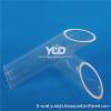 high temperature quartz tube for tube furnace high temperature resistant quartz glass furnace tube for furnace tube
