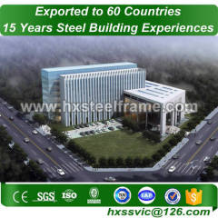 commercial buiding made of safety steel structures long life sale to Liberia