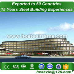 portal frame structure and prefabricated steel structures sale to Singapore