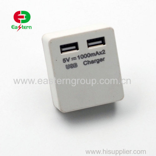 5V 2A US/EU/UK plug wall usb charger for iPhone charger