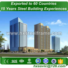 commercial metal buildings made of Welded H Steel with A36 A572 steel