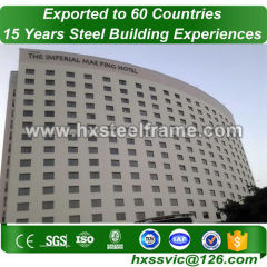 pre constructed buildings and custom metal buildings hot Sell sale to Luanda