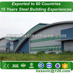 farm pole buildings and steel agricultural buildings with ISO standard