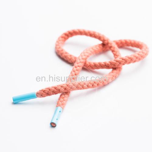 Polyester Cotton Nylon PP Shoelace with long performance life