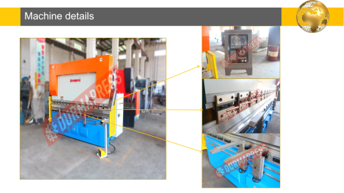 Delem System automatic portable press brake