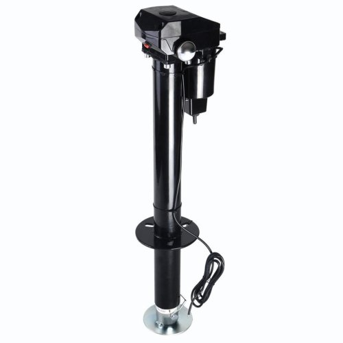 Electric tongue jack for RV