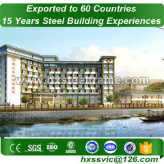 steel metal buildings and pre engineered steel building ISO9001 at Zambia area