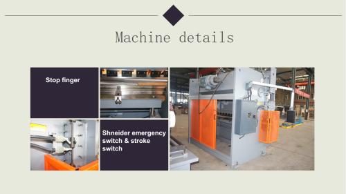 China real manufacturer of small cnc press brake