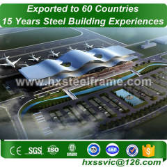 all steel buildings made of steel structure work cost-saving export to India