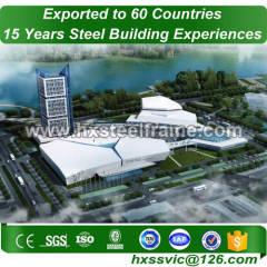 60x100 metal building made of steelstruct multi-storey for Herzegovina client