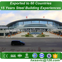 steel construction buildings made of sttel frame new-designed at Cyprus area