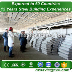 steel civil engineering formed steel bulding nice-designed at Gabon area