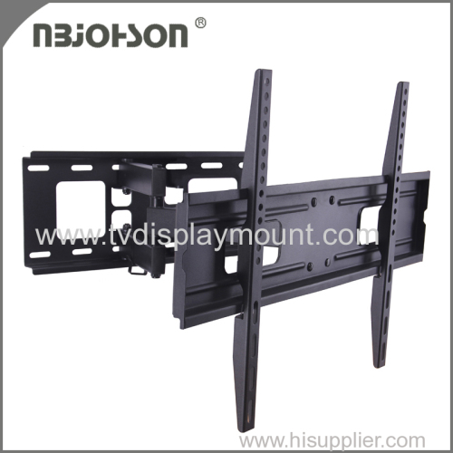 Articulating full motion tv wall mount