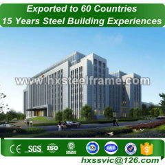 steel buildings and structures made of sttel frame fast construction