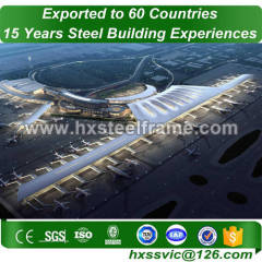 steel building frame made of famous steel structures heavy-duty at Europe area