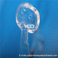 High temperature resistant quartz processing element Clear and easy to clean