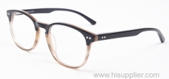 Popular classic acetate spectacle frames in lamination colors