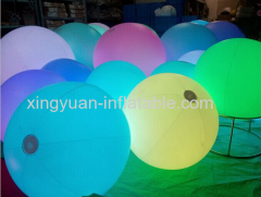 LED crowd ball for large events