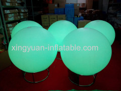 Hot sale inflatable lighting balloon for decoration